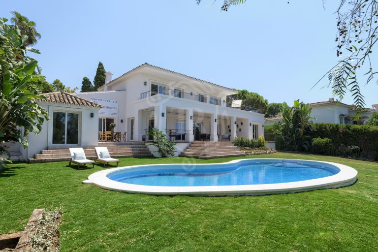 Just refurbished villa in guadalmina alta