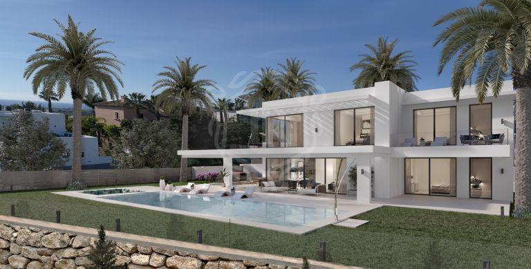 Brand new contemporary villa with sea views in Los Flamingos