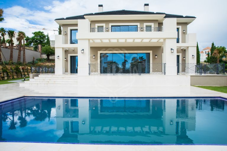Impresionante villa en Los Flamingos, Benahavis