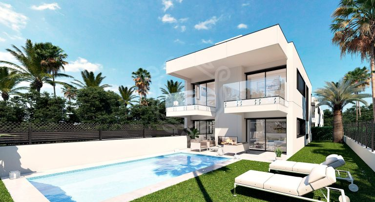 New-built project of 3 individual Villas in Puerto Banus