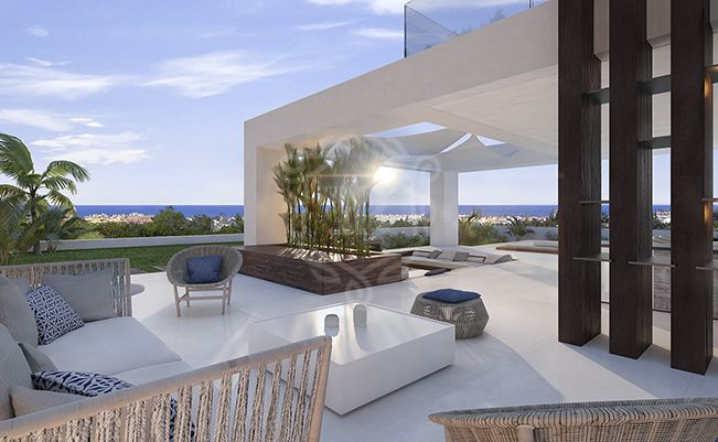 Unique contemporary design Villa in Cancelada - Velvet Villas