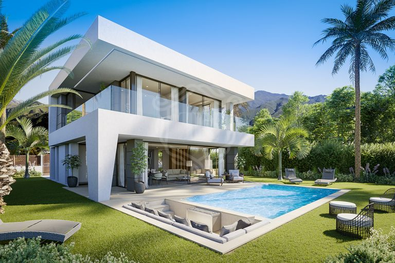Modern and luxurious design villa in Bel Air, New Goldwen Mile