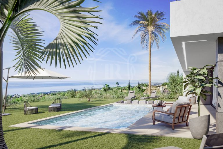 LUXURY MODERN AND FRESH DESIGN VILLAS IN MANILVA