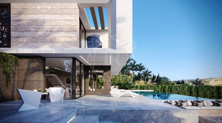 Modern and and contemporary style villa in Valle Romano Green - Estepona