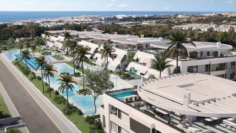 Apartamentos de lujo amueblados por FENDI CASA con diseños únicos en Milla de Oro (Marbella)