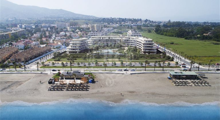 Project of frontline beach apartments - Torremolinos, Malaga