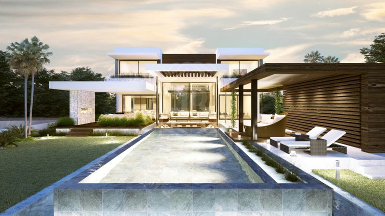 Contemporary villa in Bel Air, Cancelada Estepona