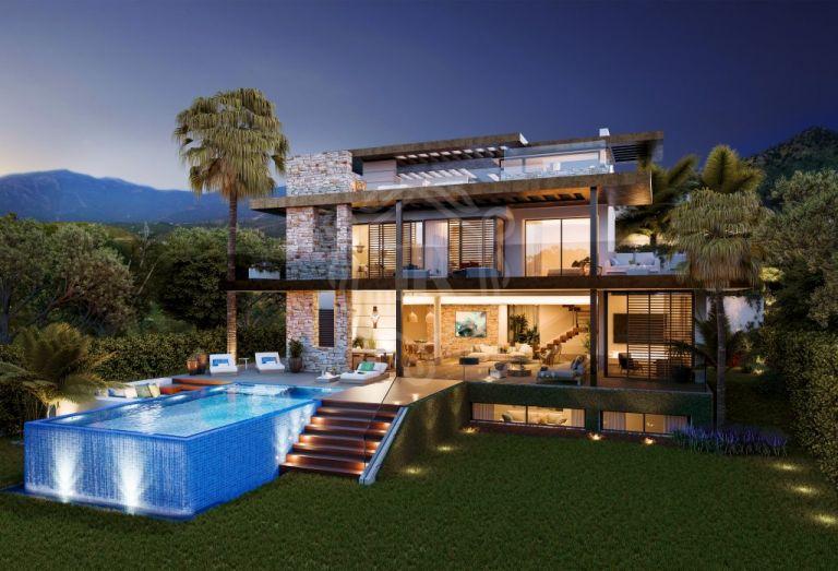 Villa de lujo en un excepcional proyecto boutique en Benahavís