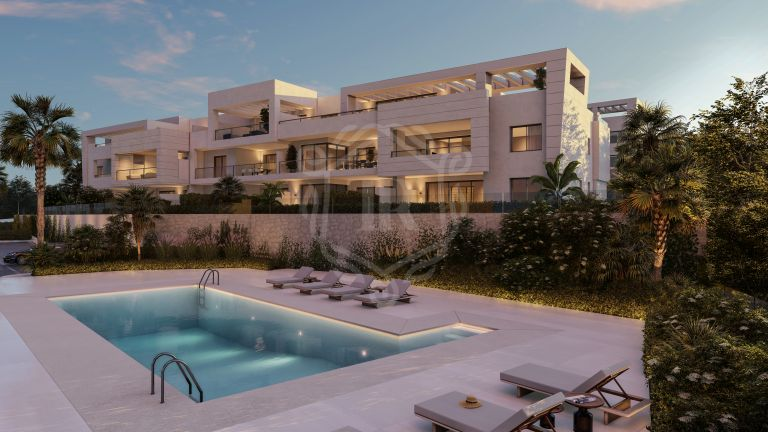 Exclusive apartment in front of the golf course Casares Golf