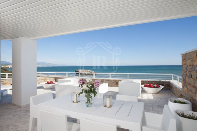 Modern apartment in front line beach development Casas Del Mar