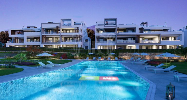 Apartment in exclusive development next to Playa del Saladillo