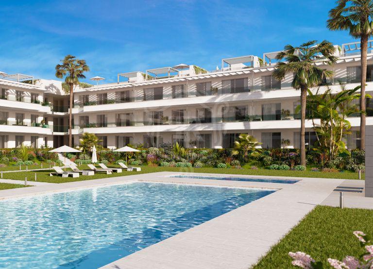 Apartamento de 3 dormitorios complejo contemporáneo en New Golden Mile - Estepona