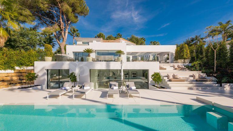 Impresionante villa de diseño en Nueva Andalucía
