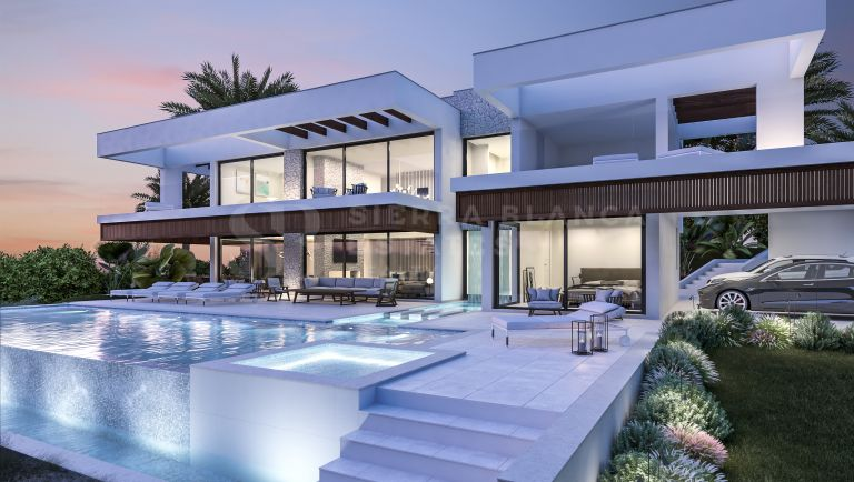 Brand New Contemporary Villa in Nueva Andalucia