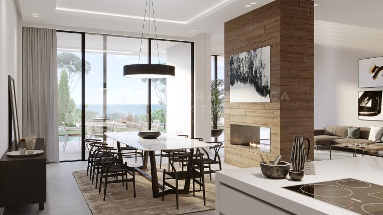 Projet de 6 villas de luxe exclusives à Cabopino