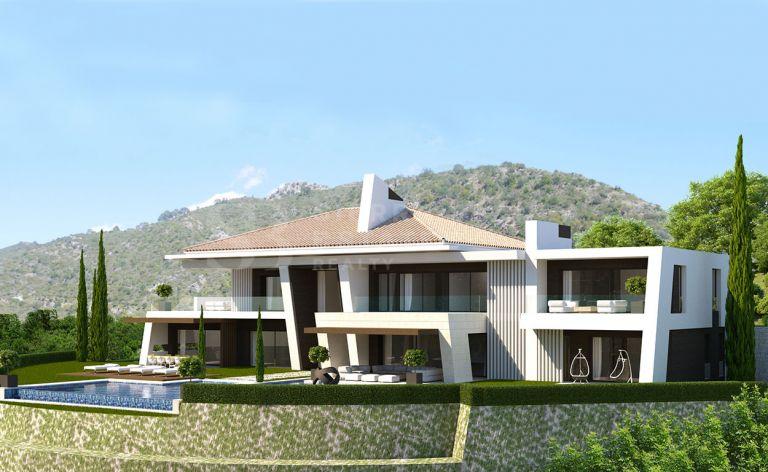 Solar con Proyecto de Villa en La Zagaleta