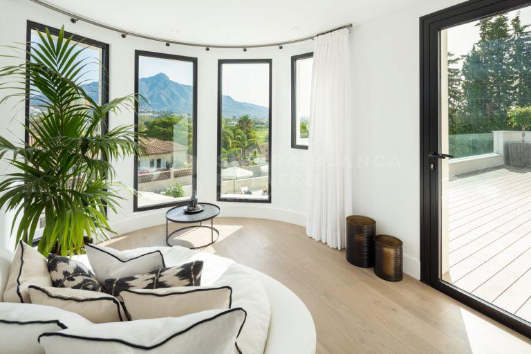 Impresionante Villa reformada en Nueva Andalucía