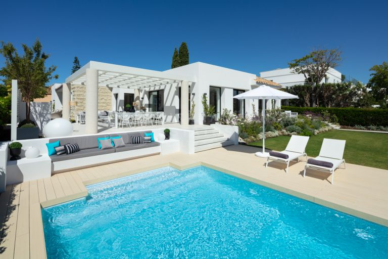 Super Stylish Villa in Nueva Andalucia Golf Valley