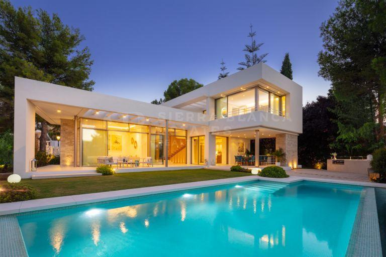 Innovadora Villa en la exclusiva Nueva Andalucía