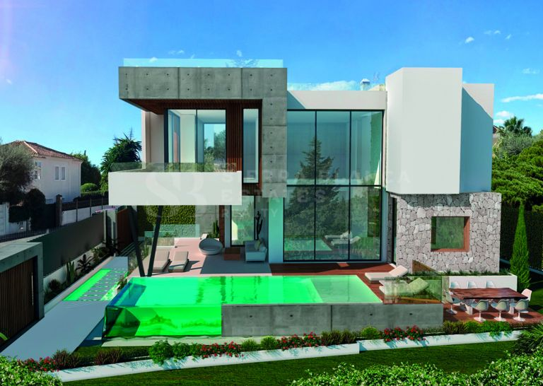 Stunning Modern Villa Located in Marbella's Golden Mile