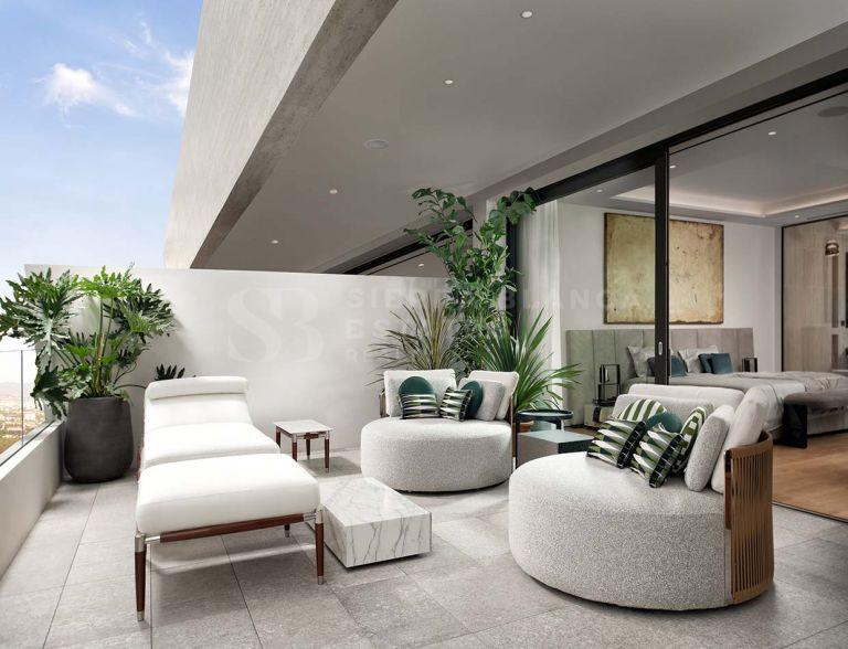 Duplex Penthouse in Epic Marbella Furnished by Fendi Casa