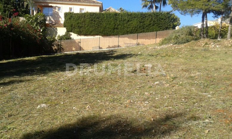 Marbella Golden Mile, Fabulous Plot with Sea and Mountain Views, Sierra Blanca, Marbella Golden Mile