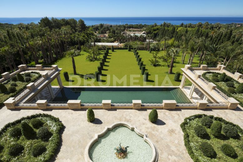 Marbella Golden Mile, Unique Exclusive Palatial Villa 'La Favorita', Golden Mile, Marbella