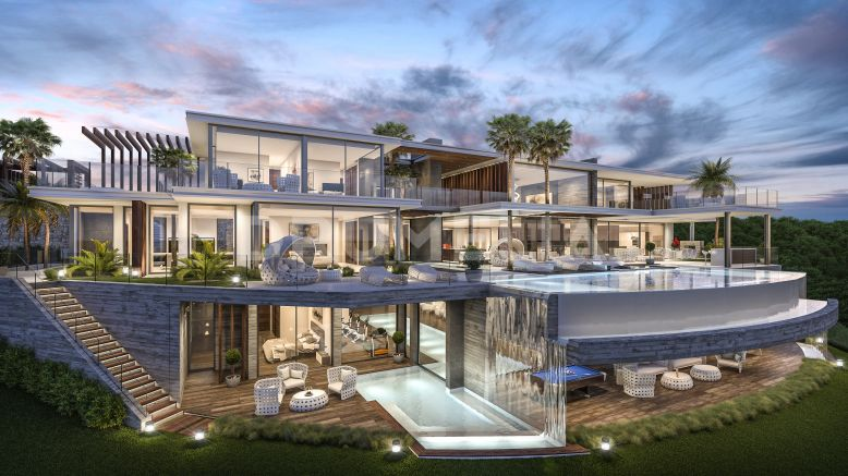 Benahavis, Exceptional Modern Luxury Villa Project, Zagaleta, Benahavis