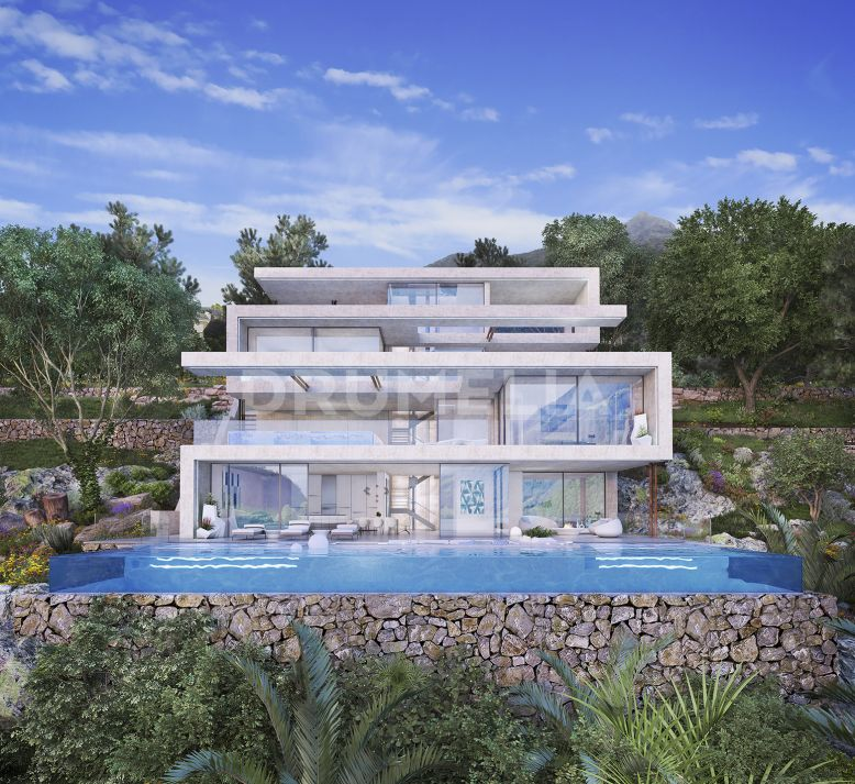 Istan, New Modern  Villa with Panoramic Sea Views, Sierra Blanca Country Club, Istan