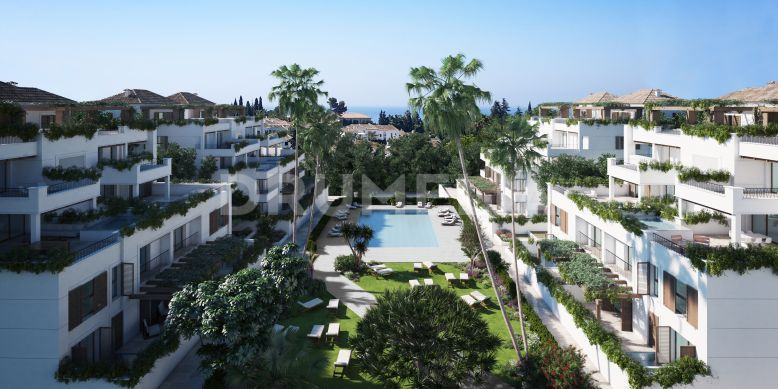 Marbella Golden Mile, Brand-New Elegant Ground Floor Luxury Duplex, Marbella Golden Mile