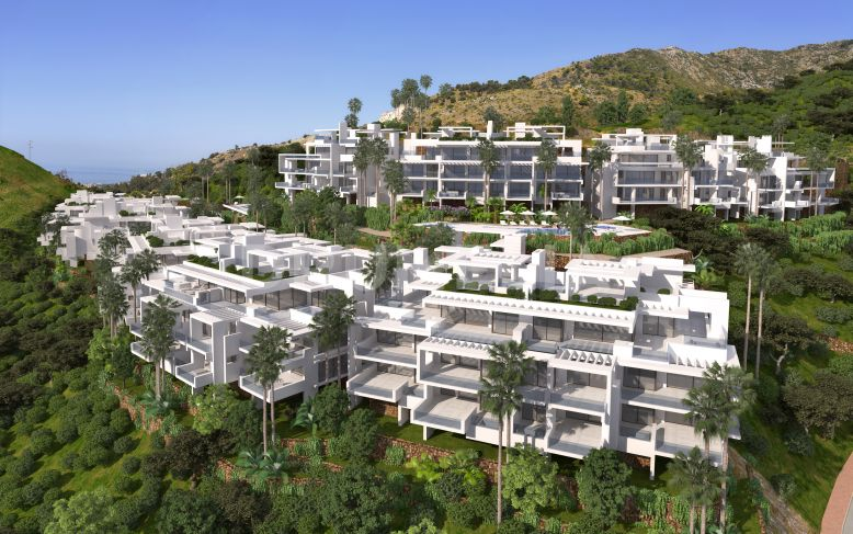 Marbella, Chic Modern Penthouse in Brand-New, Unique Contemporary Development, Ojén