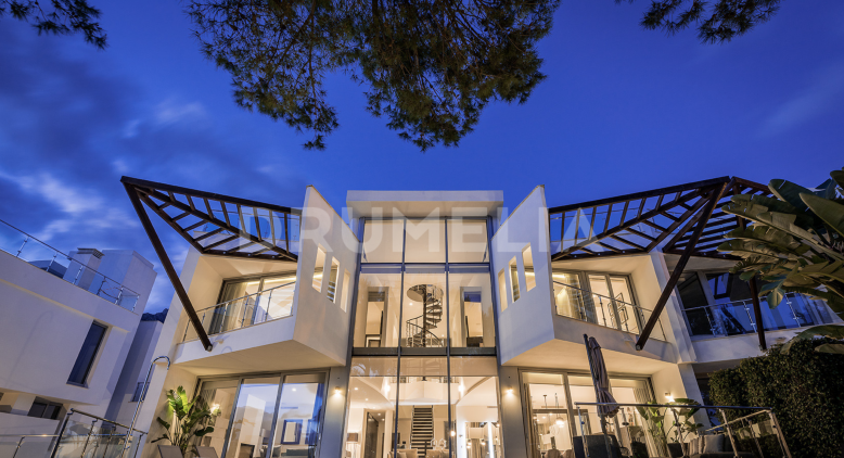 Marbella Golden Mile, Amazing Modern Luxury Town House, Sierra Blanca, Marbella Golden Mile