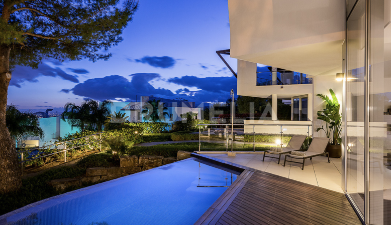 Marbella Golden Mile, Stunning Modern Luxury Townhouse, Sierra Blanca, Marbella Golden Mile