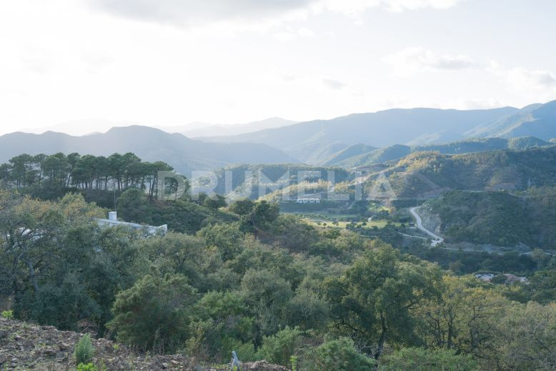 Benahavis, Splendid Plot with Impressive Views in Elite Zagaleta
