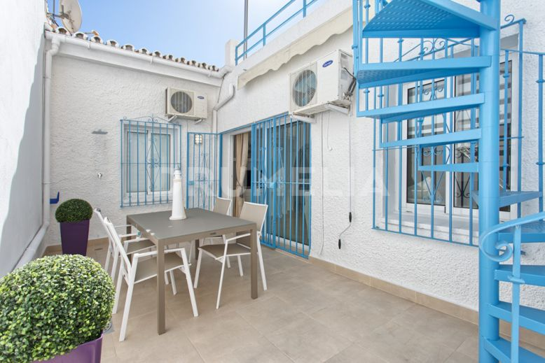 Estepona, Attractive Frontline Beach Townhouse, El Pirata, Estepona