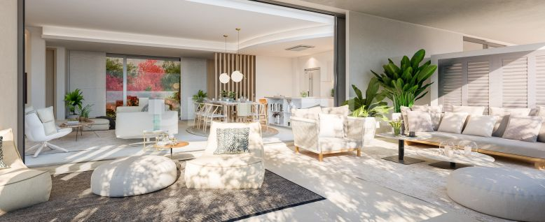 Benahavis, New Stylish Modern Luxury Ground Floor Apartment, La Quinta, Benahavis