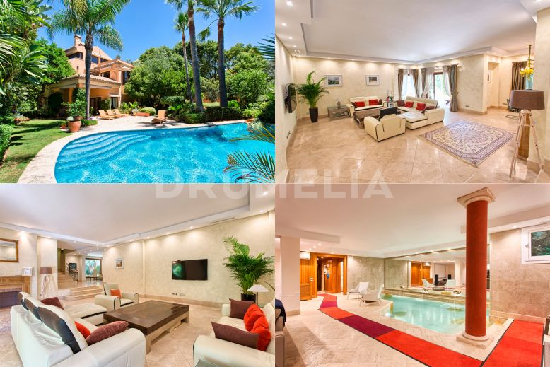 Marbella Golden Mile, Gorgeous and Elegant Villa, Altos de Puente Romano, Marbella Golden Mile