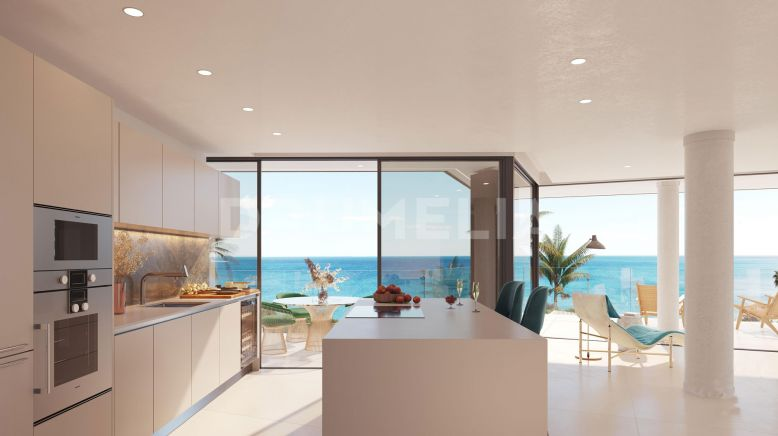 Estepona,  New Modern Luxury Penthouse Duplex at Sea (Project), Estepona Playa