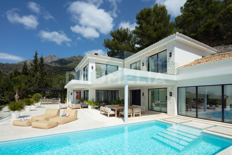 Marbella Golden Mile, Exquisite Luxury Modern Villa, Cascada de Camojan, Marbella Golden Mile