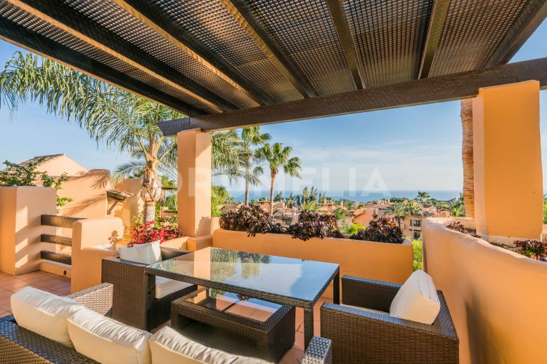 Penthouse  te koop in  Mansion Club - Marbella Golden Mile Penthouse