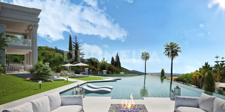 Marbella Golden Mile,  New Gorgeous Palatial Villa in Sierra Blanca, Marbella Golden Mile