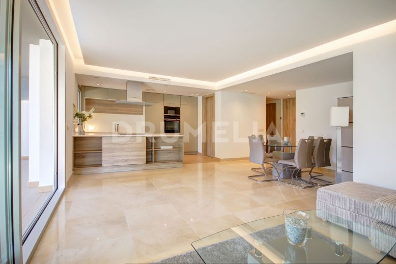 Marbella - Puerto Banus,  Brand-New Modern Ground Floor Corner Apartment with Garden in Puerto Banus
