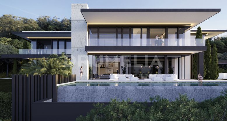 Benahavis, New Luxury High- end Villa with Panoramic Views and Modern Chic in Zagaleta