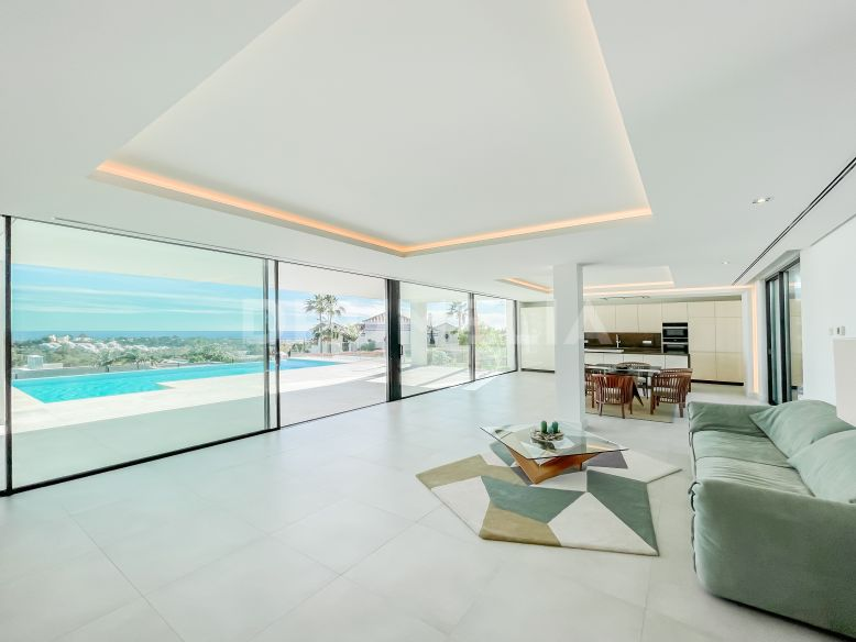 Benahavis, Modern Brand New Contemporary Luxury Villa, La Alqueria, Benahavis