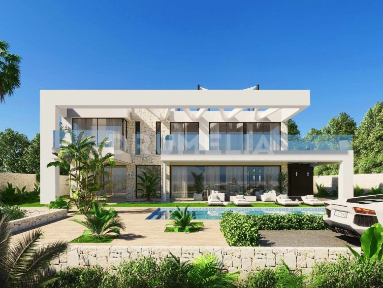 Marbella East, Frontline Beach Chic Contemporary Villa in Marbesa (off plan project)