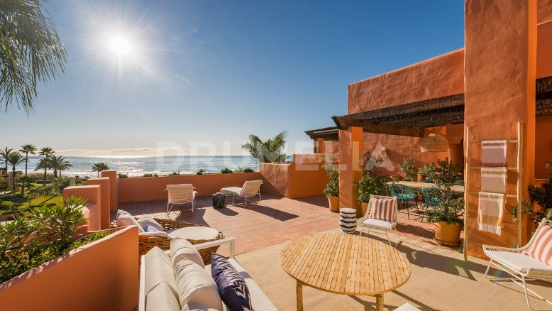 Marbella East, Outstanding Duplex Penthouse with Sea Views, Beachfront Los Monteros, Marbella