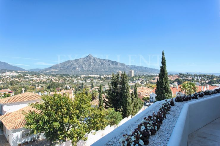 Jardines de Andalucia, Nueva Andalucia, marbella, apartment with great mountain views for sale