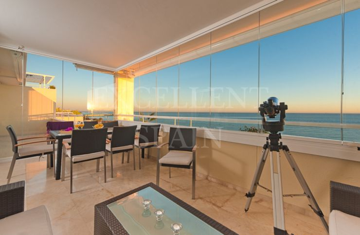 Los Granados de Cabopino, Marbella East, penthouse for sale with panoramic sea views