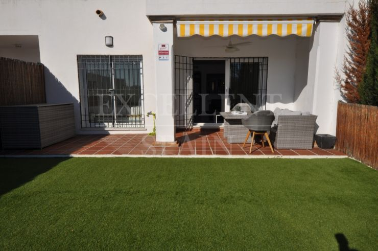 Señorio de Gonzaga, Nueva Andalucia, Marbella, ground floor apartment with large private garden for sale