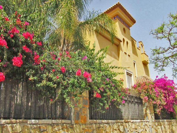Nagueles, Marbella, spacious villa for sale
